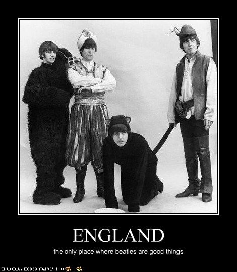 ENGLAND the only place where beatles are good things