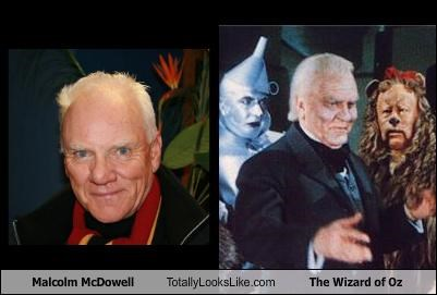 actor,Frank Morgan,Malcolm McDowell,movies,wizard,wizard of oz