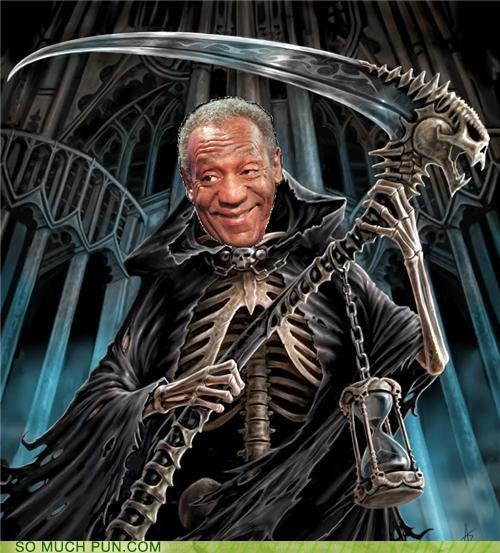 afterlife bill cosby Death puns snack - 3663279104
