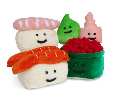 face Pillow Plush soft sushi ThinkGeek - 3663958528