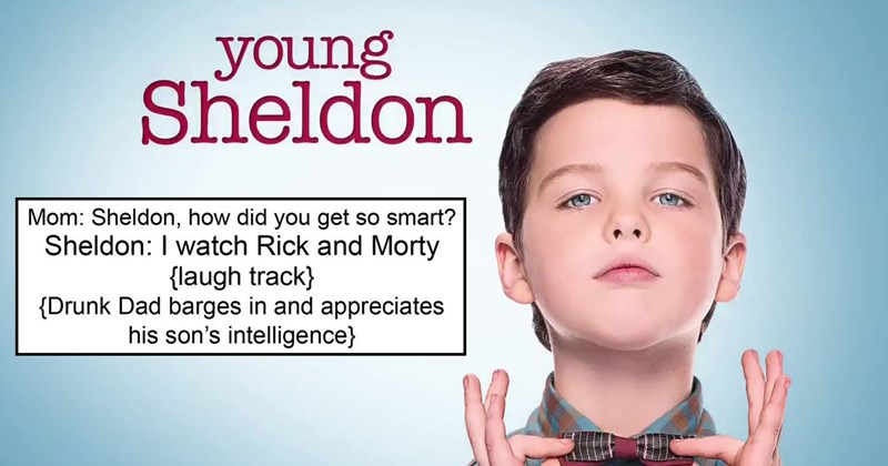 Funny and brutal memes from the r/dankmemes subreddit about CBS show Young Sheldon, a spin-off of the big bang theory.
