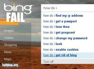 Autocomplete Me bing failboat get rid of - 3665346048