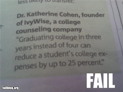 Captain Obvious Fail