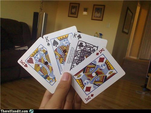 cards not a full deck poker puppy toes recycling-is-good-right