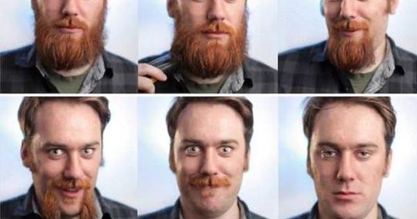 hombres rasurados