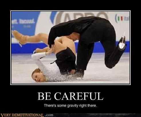 athletes FAIL fall Gravity ice skating Mean People ouch Sad - 3667001600