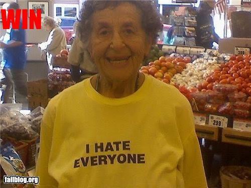 failboat granny g rated hate sweatshirt - 3667703040