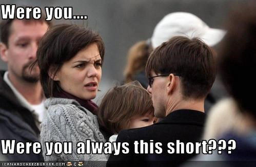 actor actress expression katie holmes short Tom Cruise - 3669152256