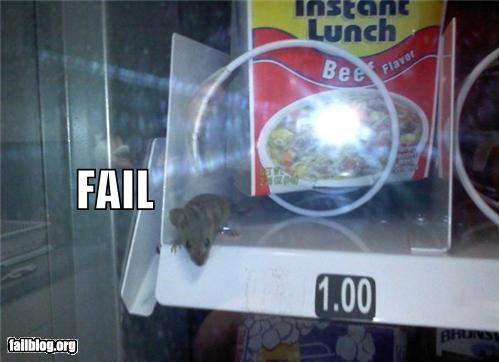 eww failboat g rated mouse snacks vending machine - 3670054400