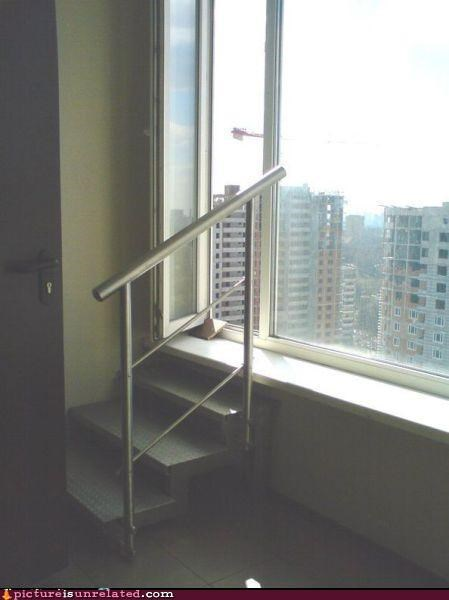 buildings is-suicide-a-solution modern life stairs wtf