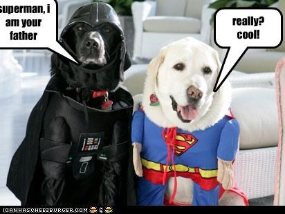 superman, i am your father really? cool!