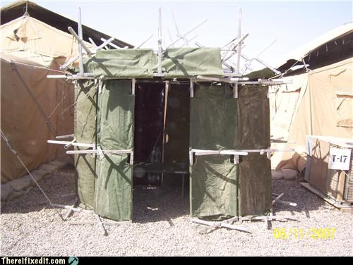 cot gazebo military shade tent well done - 3671485440