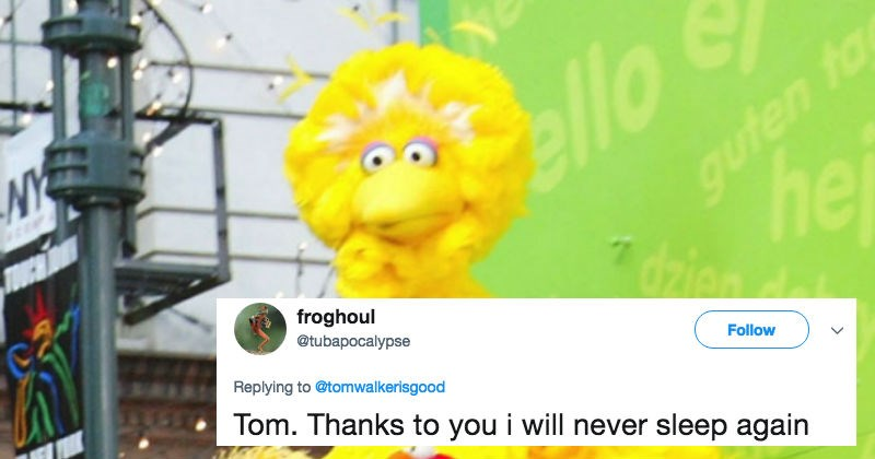 Guy's tweet about Big Bird is blowing everyone's mind and going viral for best reasons possible.