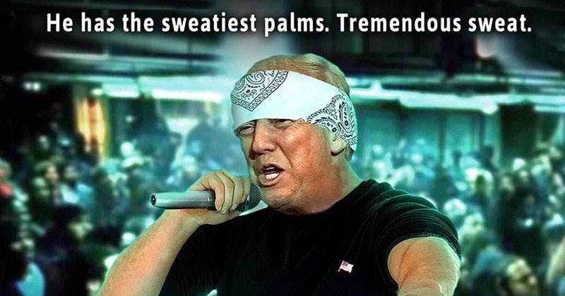 Funny memes and reactions to Eminem's Anti-Trump freestyle rap at the BET Hip Hop awards.