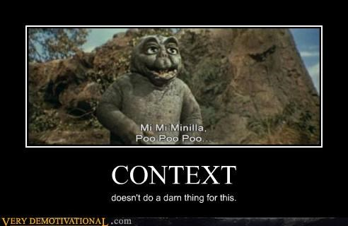 context costume idiots impossible movies poo wtf - 3673145344