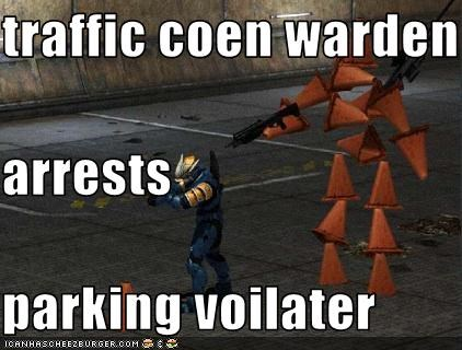 Traffic Coen Warden Arrests Parking Voilater Cheezburger