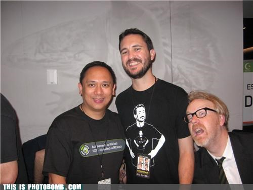 adam savage awesome Celebrity Edition nerdy Whil Wheaton - 3680992512