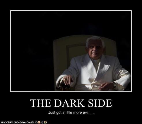 THE DARK SIDE Just got a little more evil.....