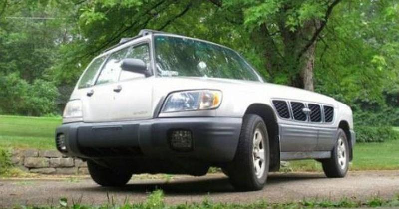 coche diferente
