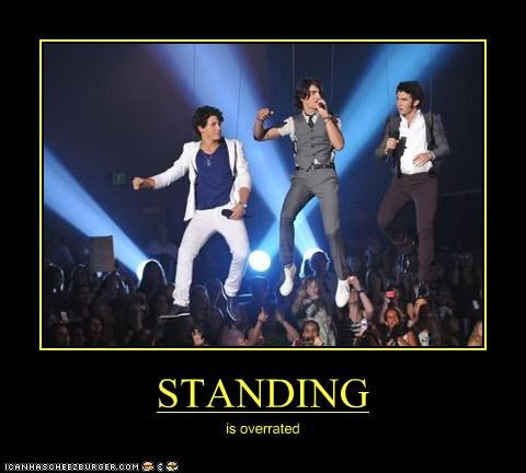 STANDING is overrated