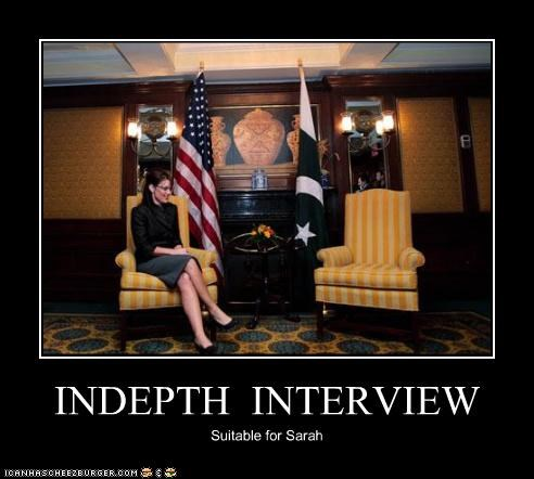 INDEPTH INTERVIEW Suitable for Sarah