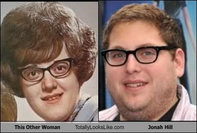 actor,fat,glasses,jonah hill,woman