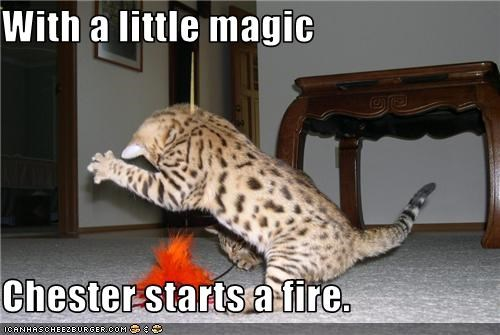 caption fire magic toys - 3686629632