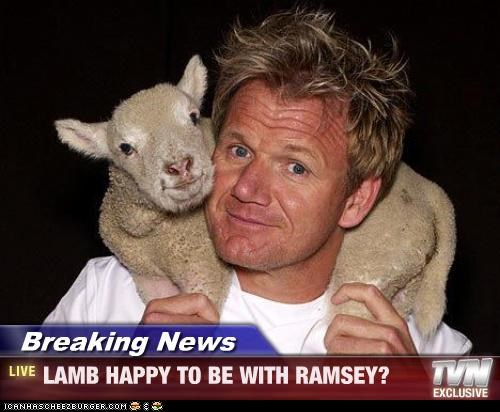 Breaking News - LAMB HAPPY TO BE WITH RAMSEY?