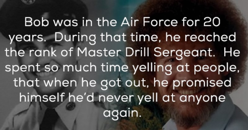 Happy and Wholesome Little Facts About Bob Ross