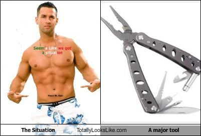 abs,douchebags,jersey shore,mtv,the situation,tool,TV