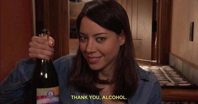 Collection of funny moments and memes of April Ludgate from Parks and rec the television show.