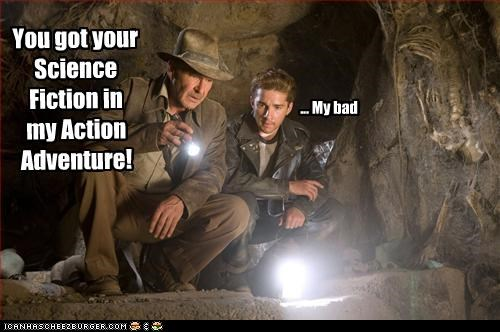 action movies actors bad movies Harrison Ford Indiana Jones sci fi shia labeouf