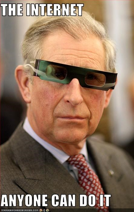 3-d glasses english great britain prince charles silly glasses the internets - 3695107072