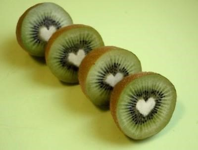 fruit fruits-veggies good for your heart heart kiwi kiwi fruit love - 3695666432