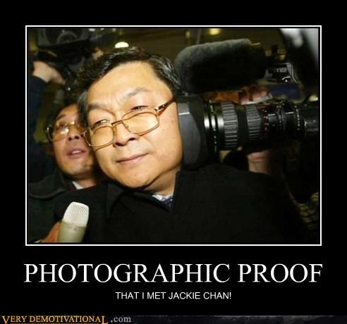 PHOTOGRAPHIC PROOF THAT I MET JACKIE CHAN!