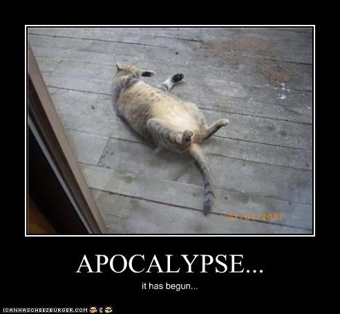 APOCALYPSE... it has begun...