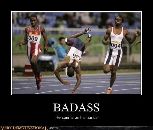 athletes Badass Pure Awesome running sports super heros - 3699276800