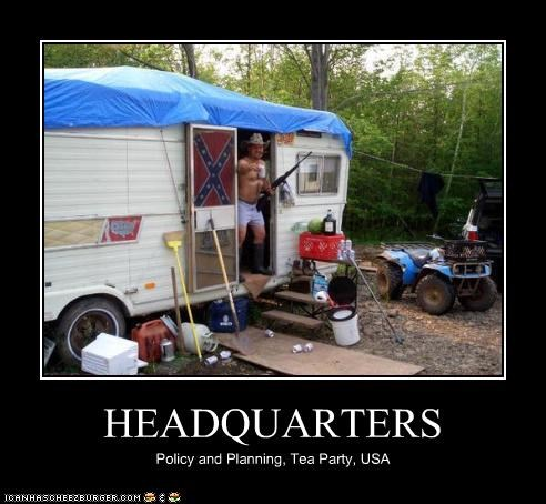 HEADQUARTERS Policy and Planning, Tea Party, USA