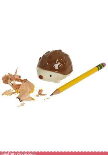 hedgehogs Office pencil sharpeners stationary - 3701353472