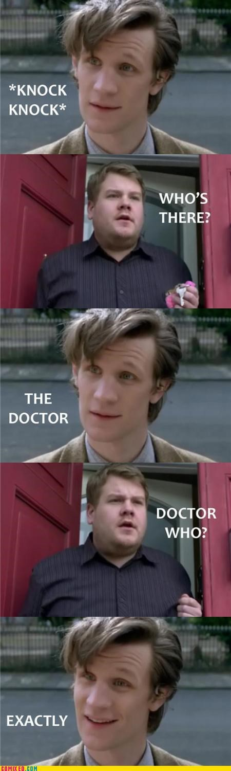 doctor who jokes knock time travel TV who - 3702427392
