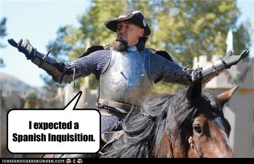 horse,knight,monty python,the spanish inquisition