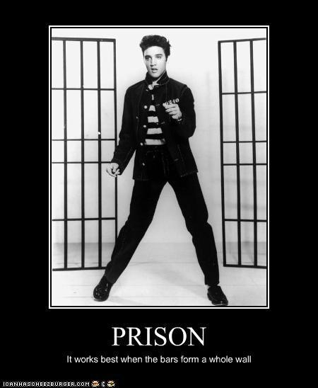 classics Elvis Presley jail musician - 3704360448