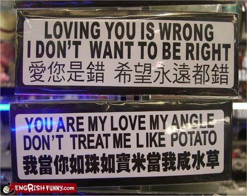 angle bumper sticker love product