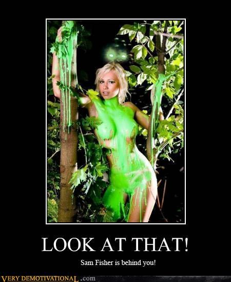 babes boob green night vision Pure Awesome Sam Fisher slime Splinter Cell Videogames - 3704564480