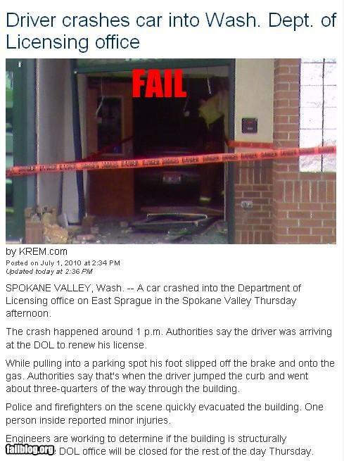 car crash failboat g rated license Probably bad News renewal - 3705992192