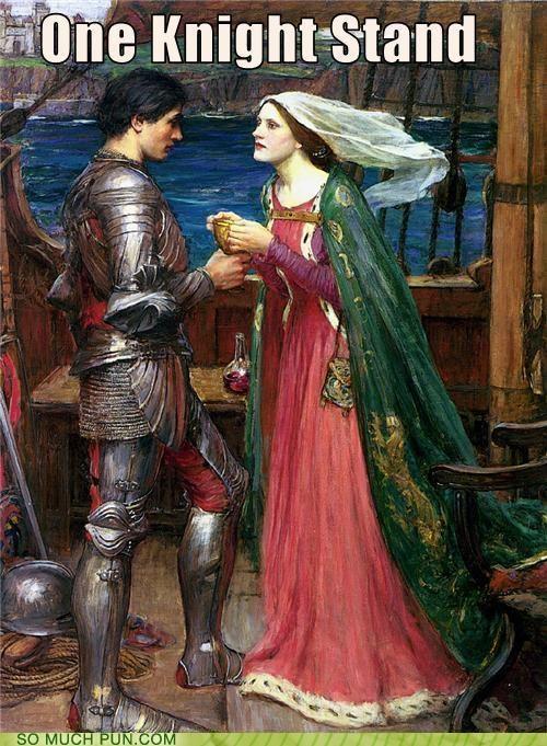 history knight lady painting puns ship - 3706486528