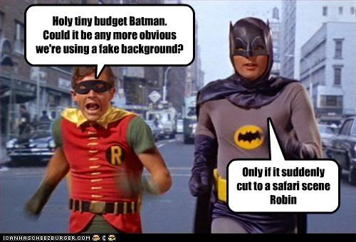 Adam West background batman british comedy budget burt ward classic tv dawn french fake gifs jennifer saunders parody robin superheroes titanic - 3707363072