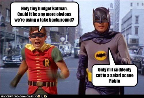 Adam West batman british comedy burt ward classic tv fake gifs jennifer saunders parody robin superheroes titanic - 3707363072