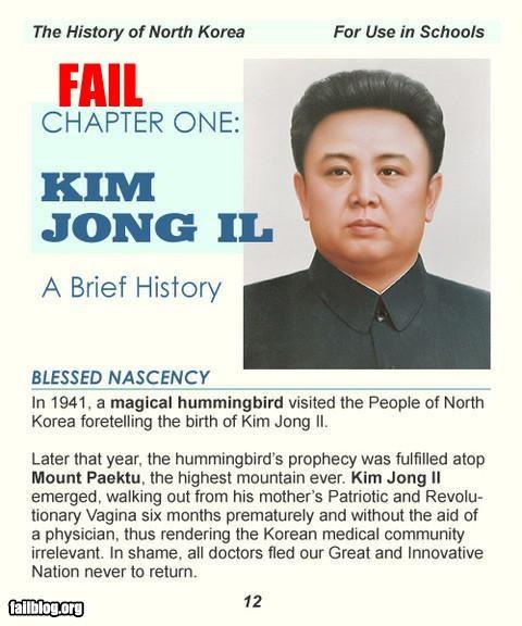 creepy failboat g rated history Kim Jong-Il - 3708760832