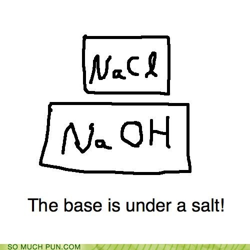 base,periodic table,puns,salt,science